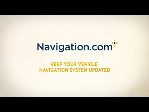 Update Your Navigation System Map and Save