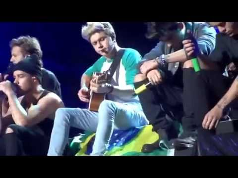 Little Things - One Direction - WWAT - São Paulo 10.05.2014