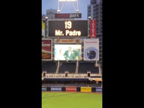 Tony Gwynn Memorial Tribute - Hard to Say Goodbye