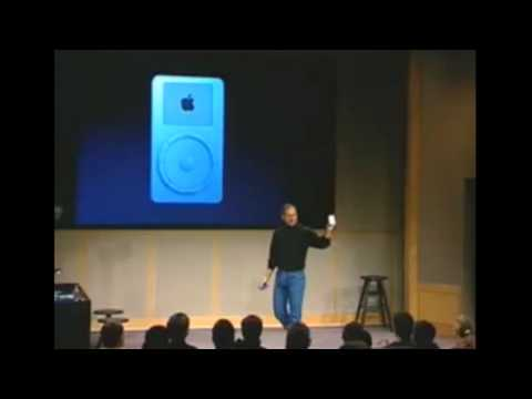 Steve Jobs introduction of Apple 1st generation products 1984 to 2010