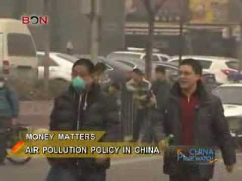 Air pollution policy in China - China Price Watch - March 10, 2014 - BONTV China
