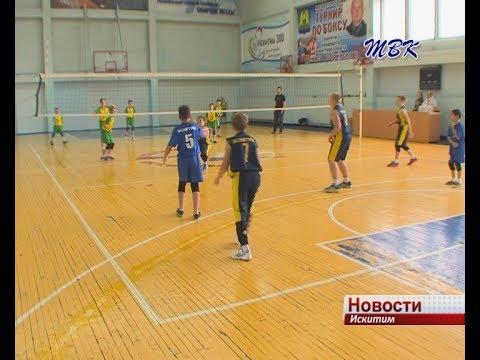 Открытое первенство по волейболу прошло в Искитиме