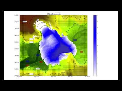 Preliminary Computer Simulation of SR530 Landslide