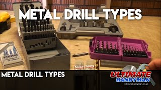 Drill bits for drilling metal