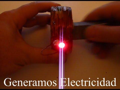 C mo hacer un generador electrico youtube - Mini generador electrico ...