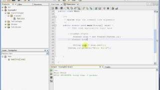 Simple Java in NetBeans view on youtube.com tube online.