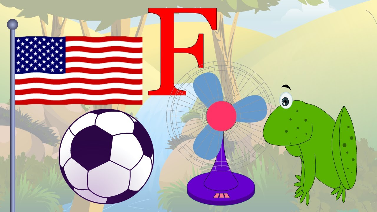 Learn About The Letter F - Preschool Activity