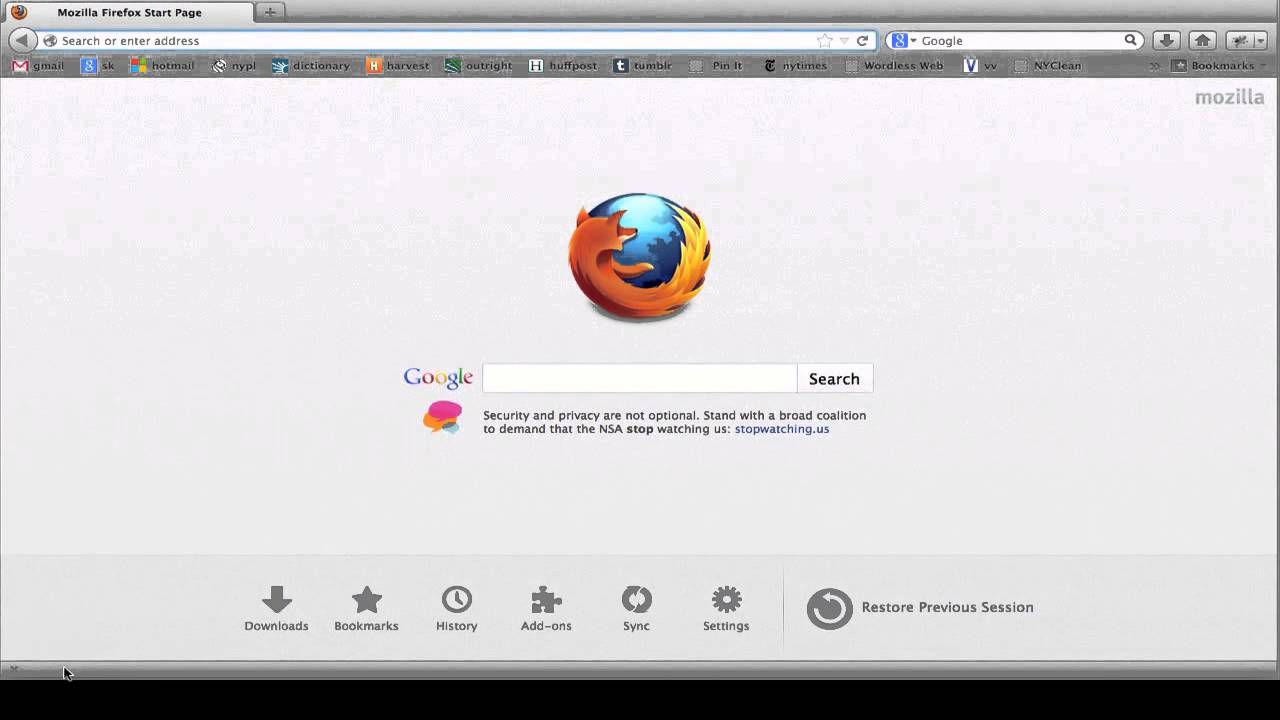 how to open firefox on a mac