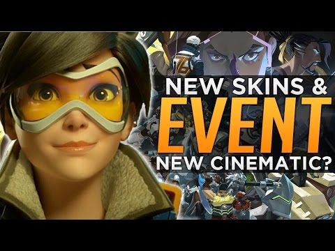 overwatch new event rumored skins new cinematic