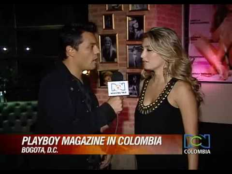 Playboy launching party in Bogota Colombia News