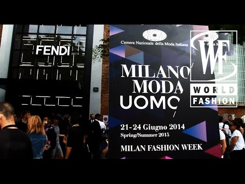 Fendi Spring-Summer 2015 Show Mens Collection Milan