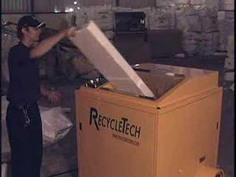 Urządzenie do recyklingu styropianu