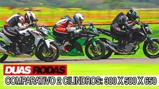 Duas Rodas Testando Limites: Comparativo Honda CB 500F X