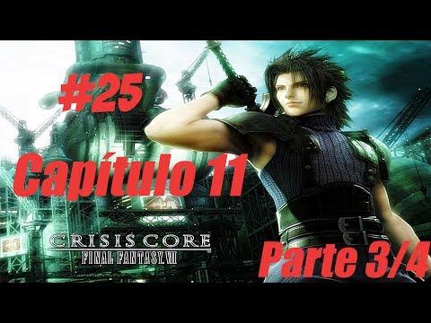Crisis Core Final Fantasy VII Detonado #25 Capítulo 11 Parte 3/4