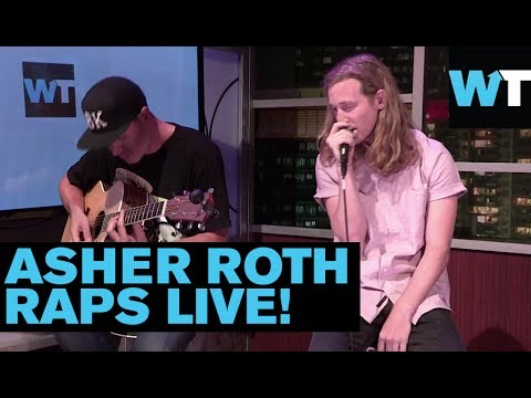 Asher Roth Performs 'Last of the Flohicans' & 'Be Right' | What's Trending Live!