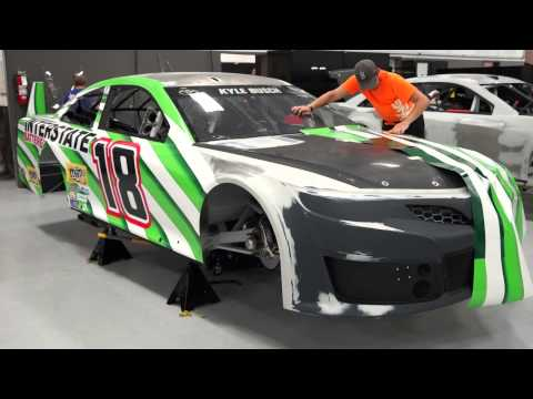 Kyle's New Interstate Batteries Legacy Car Wrap