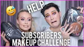 FULL FACE USING MY SUBSCRIBERS MAKEUP!