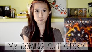 VLOG • MY COMING OUT STORY // MICHELLEAXOXO ☠