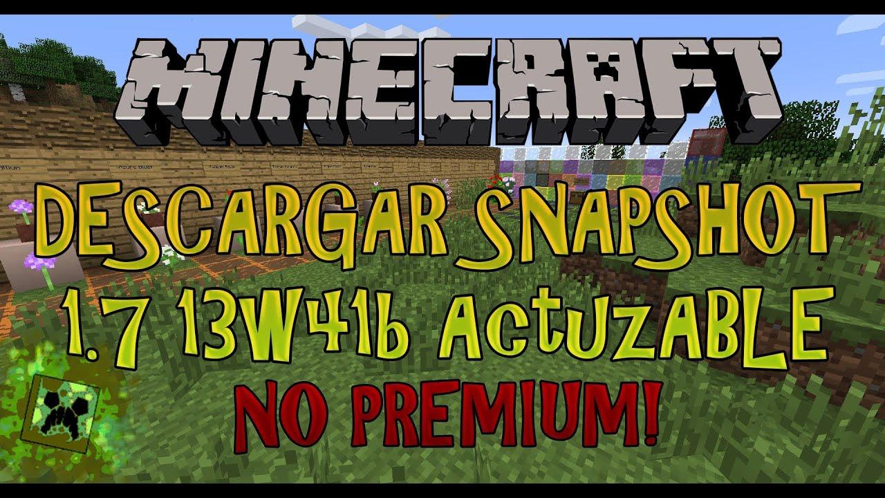 Minecraft Sin Ser Premium