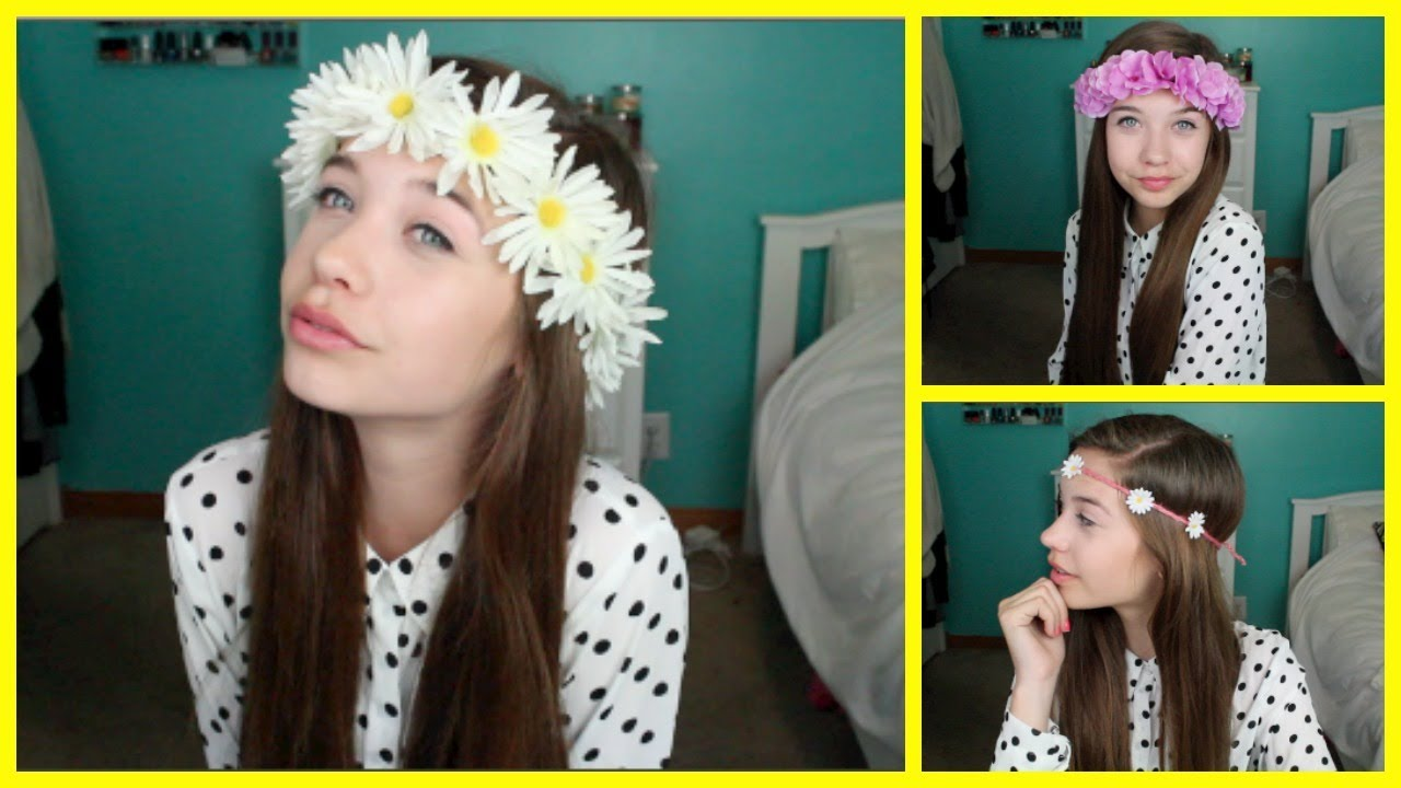 Flower crown headband diy flower crown headband diy photo27 izmirmasajfo