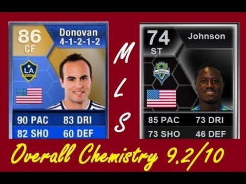 FIFA 13 MLS Squad Builder & Striker Combination ft. TOTS Donovan & IF Johnson Ultimate Team