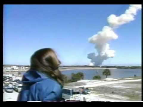 Space Shuttle Challenger Explosion Watched by Back Up Teacher