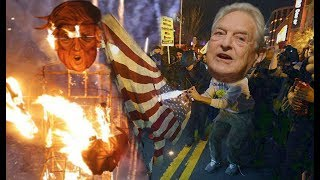 Evil money - George Soros pays to start a revolution in America HD