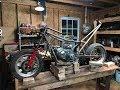 rebuilding the mini motorcycle part 1