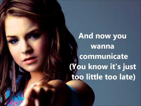 JoJo - Too Little, Too Late (Lyrics On Screen)