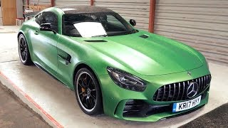Mercedes-AMG GT R Walkaround - Top Gear. Watch online.