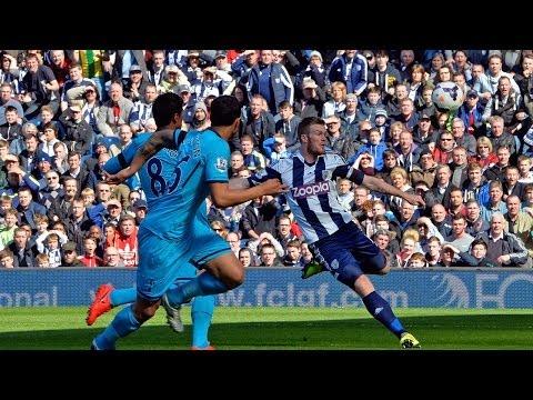 West Bromwich Albion captain Chris Brunt speaks after 3-3 Premier League draw with Tottenham