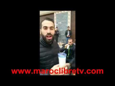 جميع قادة حراك الريف في فيديو واحد بالحسيمة يستقبلون ناصر الزفزافي بالثمر والحليب