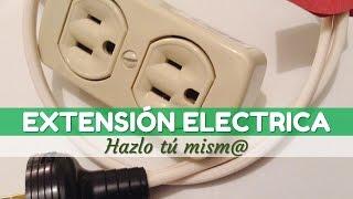 Como hacer una extensión eléctrica