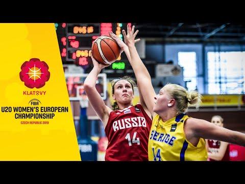 Видеотрансляция матча Россия - Швеция U20