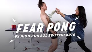 Ex High School Sweethearts Play Fear Pong (Eddie & Miriam) | Fear Pong | Cut