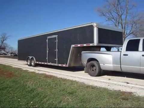 Rc Ft Enclosed Race Car Trailer
