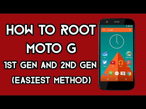 How To Root Moto G 1st Gen and 2nd Gen | Easiest Method