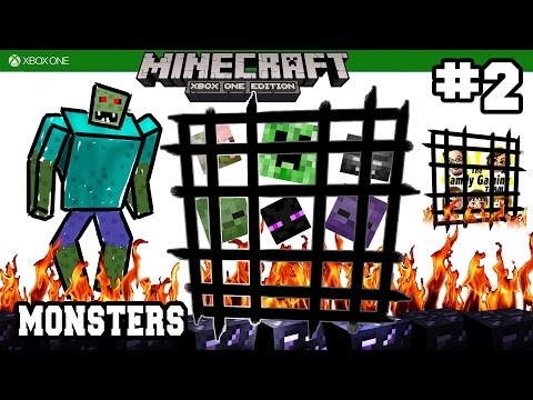 Dad & Kids play MINECRAFT XBOX ONE: Monster Spawner, Where Are You!?!?!  (#2)
