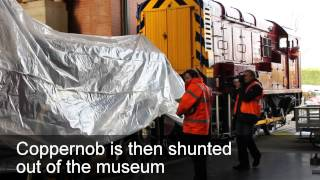 How To Move A Loco That's Over 150 Years Old