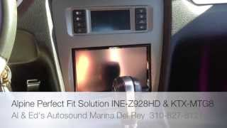 Alpine Electronics Perfect Fit Solution Ford Mustang 2010