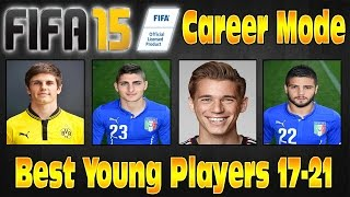 FIFA 15 Career Mode Best Young Players Cheap & Highest