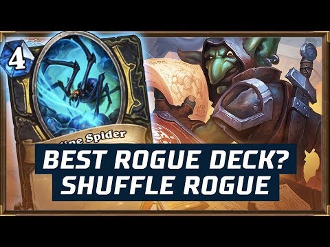 Best Rogue Deck? | Shuffle Rogue | The Boomsday Project | Hearthstone