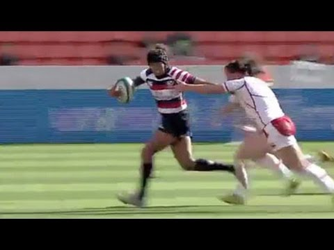 USA women beat Russia in 7's Rugby Houston - Universal Sports