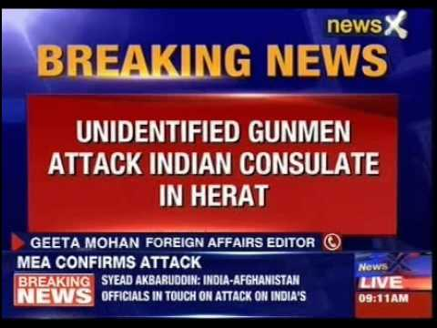 Indian Consulate attacked in Afghanistan's Herat, 1 attackers killed