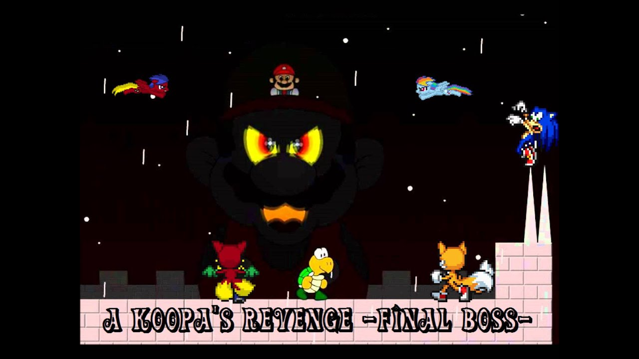 Fvgm 12 a koopa s revenge flashgame final boss youtube