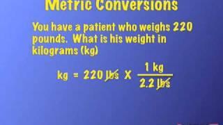 Med Math Study Review for RN Nurses & Paramedics