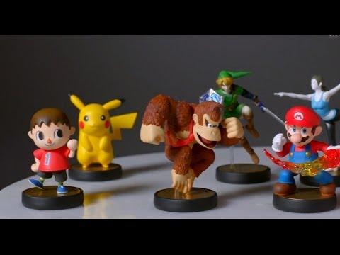 Amiibo - Smash Bros. Figures - E3 2014