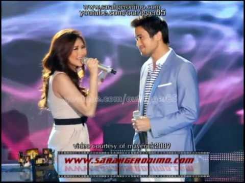 Sarah Geronimo & Sam Milby - Magmahal Muli / Di Kita Iiwan duet OFFCAM (20May12)