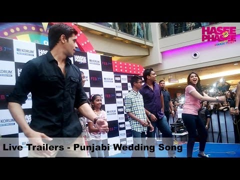 Live Trailers - Punjabi Wedding Song - Parineeti Chopra, Sidharth Malhotra
