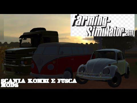 Farming simulator 2011 mods kombi scania e fuscas